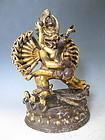 Tibetan Bronze Statue of Yamantaka