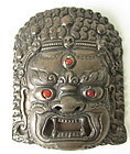 Mahakala Tibetan Belt Buckle