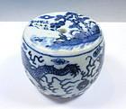 Antique Chinese Porcelain Incense Holder