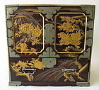 Japanese Lacquer Small Chest