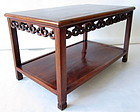 Chinese hardwood Low Coffee Table