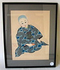 Japanese Paul Jacoulet WoodBlock print