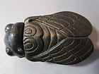 Small Bronze Cicada Box