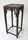 Antique Chinese Hardwood Stand