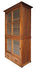 Japanese Antique Display Tansu with Glass