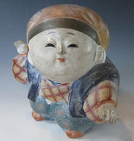 Japanese Ceramic Gosho Ningyo Doll