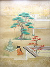 Antique Japanese Original Painting of Hachikatsugi Hime