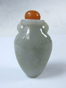 Small Chinese Jade Snuff Bottle