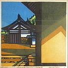 """Japanese Print """"Sangatsudo-Nara"""" by C. Karhu"""