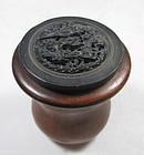 Chinese Antique Cricket Cage with Yixing Lid