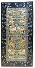 Antique Chinese Silk Panel with Fenghuang
