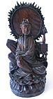Kuan Yin Hardwood Statue