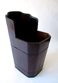 Antique Japanese Wash Tub