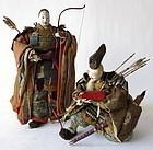 Empress Jingo with Takenouchi no Sukune & Ojin