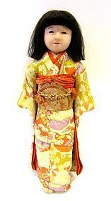 Antique Japanese Girl's Doll