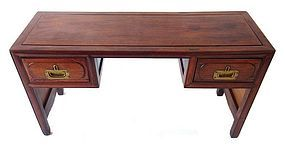 Antique Chinese Huanghuali Desk