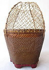 Antique Chinese Fish Basket