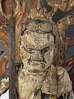 Antique Japanese Carved Wooden Fudō Myō-ō