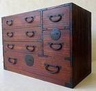 Antique Japanese Small Kiri Tansu