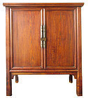 Beautiful 19th Century Chinese Jumu Shandong Cabinet