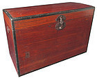 Antique Japanese Kiri Trunk