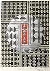 Vintage Framed Screen Print by Yoshio Sekine