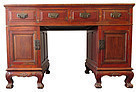 Antique Chinese Hardwood Desk