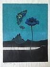 Japanese Woodblock Print by Yoshio Kanamori