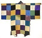 Antique Japanese Silk Patchwork Over Kimono