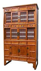 Korean Kitchen Cabinet with sliding doors