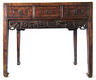 18th/19th Century Chinese Jumu Desk