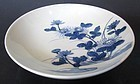 Antique Japanese Nabeshima Bowl with Flora