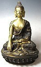 Antique Himalayan gilt Bronze Buddha