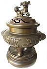 Antique Chinese Bronze Censer