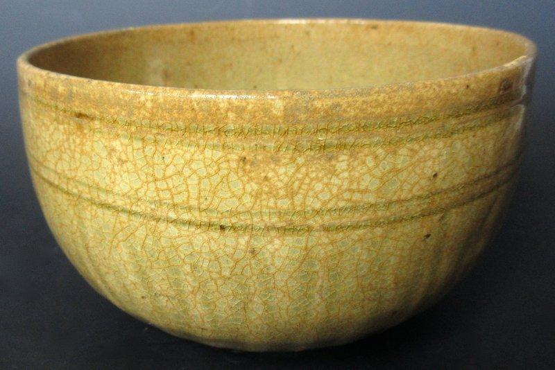 Antique Vietnamese Celadon Ceramic Bowl