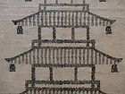 Antique Japanese Woodblock Print of Goju-no-to