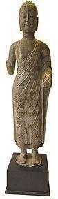 Incredible Chinese Archaic Amida Buddha Statue