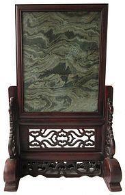 Antique Chinese Serpentine Plaque
