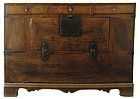 Antique Korean Hardwood Chest