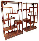 Chinese Pair of Display Shelves