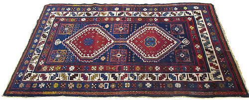 Antique Hand Knotted Wool Carpet