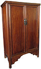 Antique Chinese Hardwood Cabinet