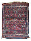 Antique Sanjabi Kurdish Chanteh Bag (Camel Bag)