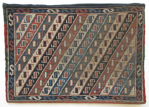 Small Antique Persian Tribal Chanteh
