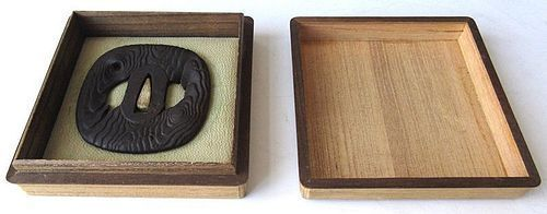Unusual Antique Japanese Edo Period Tsuba