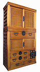 Japanese Antique 2-Section Choba Tansu