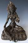 18th/19th Century Tibetan Bronze Tara Statue