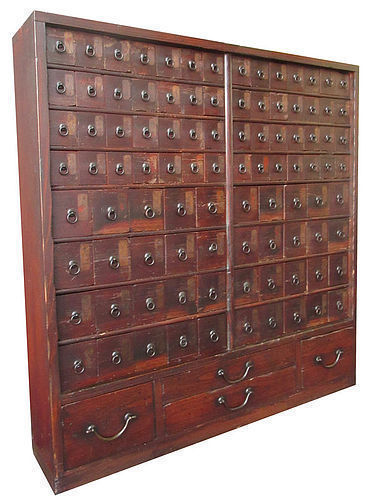 Antique Japanese Apothecary Tansu