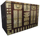 Antique Korean Hardwood Bandaji (blanket chest)