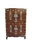 Antique Korean Two-unit stacked chest